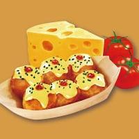 【店頭払い限定】チーズたこ焼き|6玉|テイクアウト可