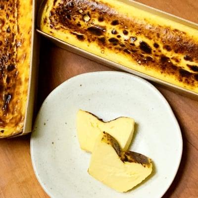 【ヘルシーな特製バスク風チーズケーキ】バスクチーズケーキ 白砂糖不使用・グルテンフリー