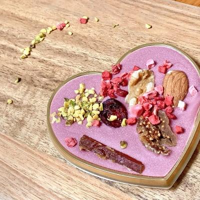 【ルビーチョコレートの贅沢マンディアン】ハート型