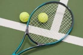 初回限定 店頭受渡し テニスラケット ガット張り ポリツアースピン(ブルー)のイメージその1