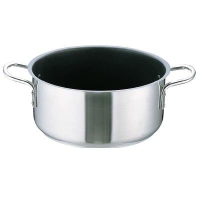 Murano(ムラノ) インダクションテフロンセレクト18-8 外輪鍋 24(cm) 電磁調理器対応鍋