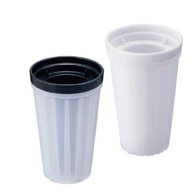 俺のクラッシュアイス 自宅で簡単にクラッシュアイスがつくれる製氷機 選べる二色のカラー(ホワイト/ブラック)
