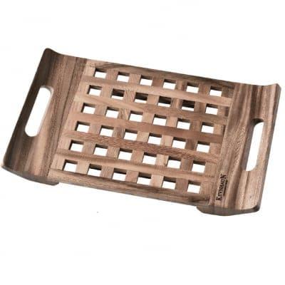 【ケヴンハウンDスタイルシリーズ】トレイ Mサイズ 470×340×高さ35(mm) 天然木(アカシア)