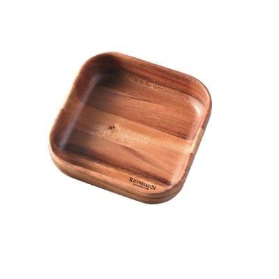 【ケヴンハウンDスタイルシリーズ】スクウェアボウルL 232×232×高さ65(mm) 天然木(アカシア)