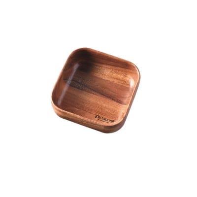 【ケヴンハウンDスタイルシリーズ】スクウェアボウルM 178×178×高さ65(mm) 天然木(アカシア)