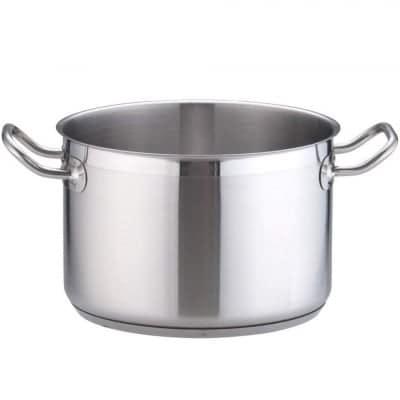 TKG PRO(プロ)半寸胴鍋(蓋無) 24(cm) 電磁調理器対応鍋