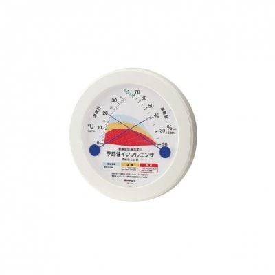 季節性インフルエンザ感染防止目安温湿度計 TM-2582