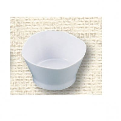 【メラミン給食用食器】三ツ葉小鉢 №77