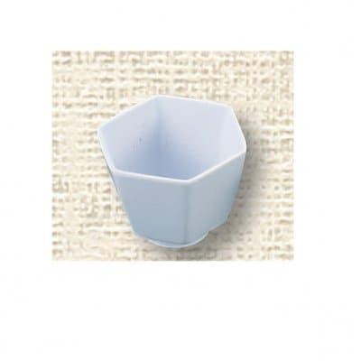 【メラミン給食用食器】六角小鉢 №79