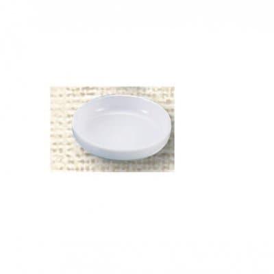 【メラミン給食用食器】漬物皿(フチきったて型)№71