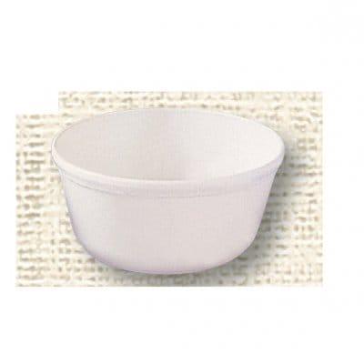 【ポリプロピレン食器】おわん(白)№1704W