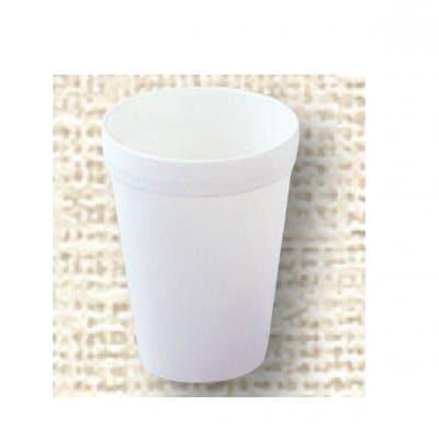 【ポリプロピレン食器】コップ 小(白)№1701W