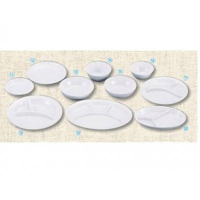 【メラミン給食用食器】給食用 パン皿 №44B 画像⑫