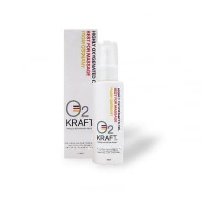 オーツークラフト(O2 KRAFT) 高濃度酸素ボディマッサージオイル 100ml 酸素のパワーでbody changes!
