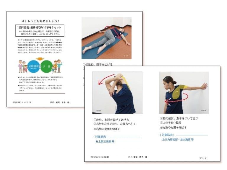【オンラインプレミアム版】  専門家から直接検査が受けられ、姿勢のお悩みなどのプチ相談ができます!オンラインでAIからだ分析のイメージその6
