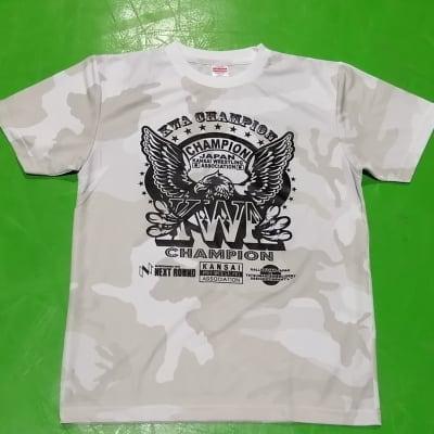 【河内プロレス】KWAチャンピオンベルトデザインTシャツ