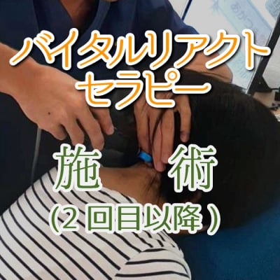バイタルリアクトセラピー 施術(2回目以降)