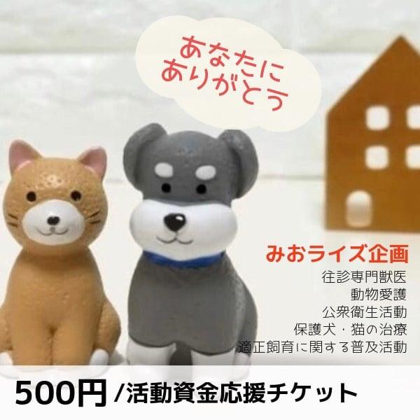 みおライズ企画500円応援チケットのイメージその1