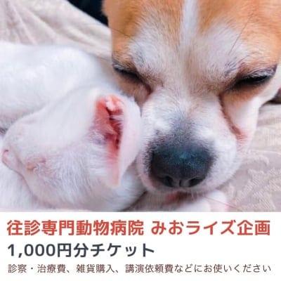 みおライズ企画1000円お買い物チケット
