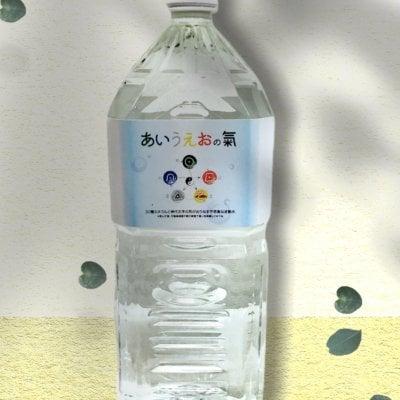 【お得用】高濃度ミネラル水『あいうえおの氣』2L×2本