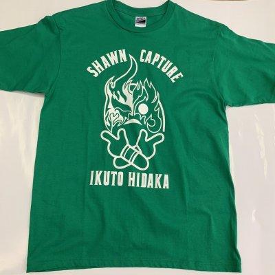 SOUKO×日高郁人コラボTシャツ・グリーン
