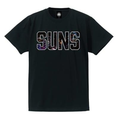 ANDSUNS DA GALAXY SUNS TEE ブラック Mサイズ