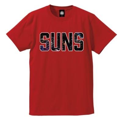 ANDSUNS DA GALAXY SUNS TEE RED L・XL サイズ