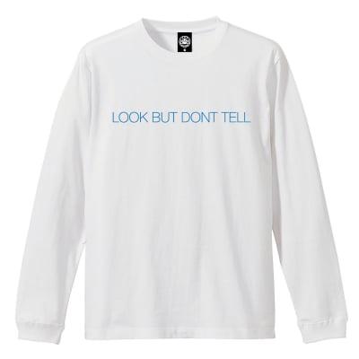 DON'T TELL TEE ホワイト Mサイズ