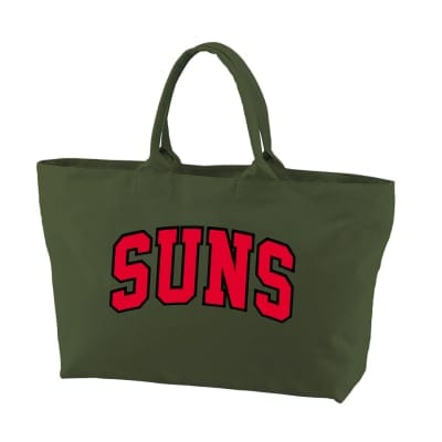 ANDSUNS COLLEGE TOTE BAG オリーブ