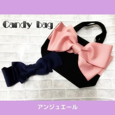 ハンドメイド教室  candy bag &hairbandライセンスレッスン