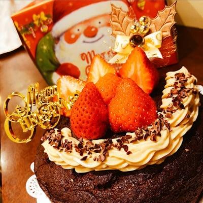 【クリスマスケーキ】グルテンフリーのガトーショコラチケット