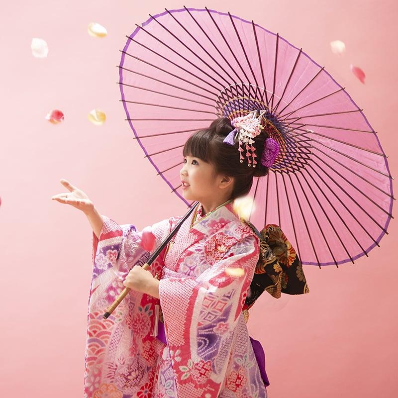 【七五三記念撮影・現地払い】7歳 ミナヨの衣装で撮影のみBプラン 高橋様特別セットのイメージその1