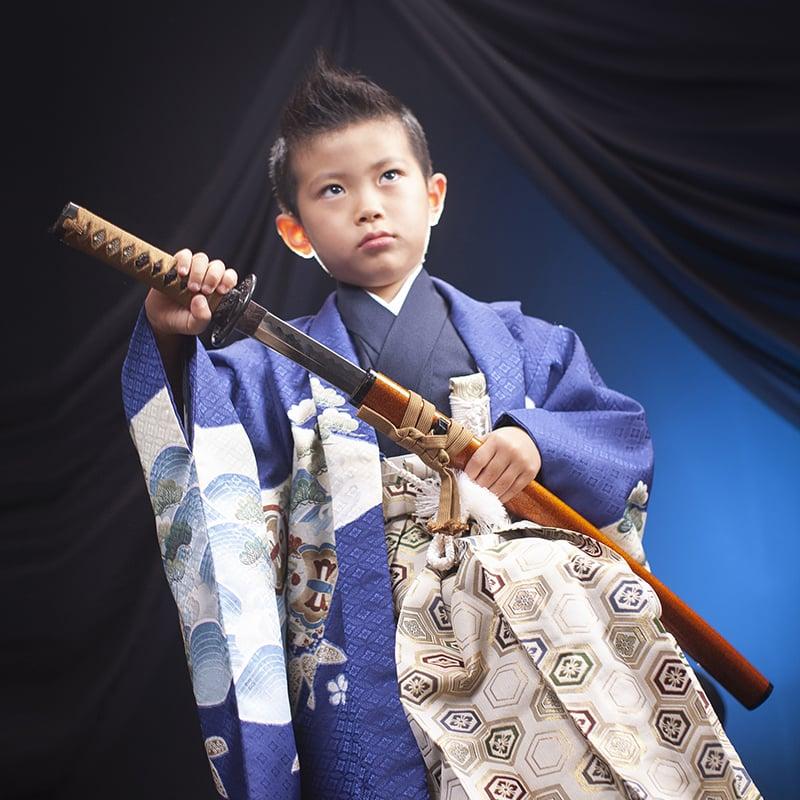 【七五三記念撮影・現地払い】 5歳向け ミナヨの衣装で撮影もおでかけもできますプランのイメージその1