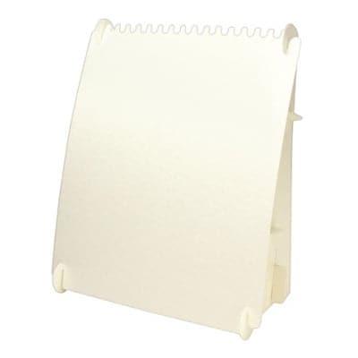 組立式ネックレスボード ホワイト 2枚入り (No44-5815)
