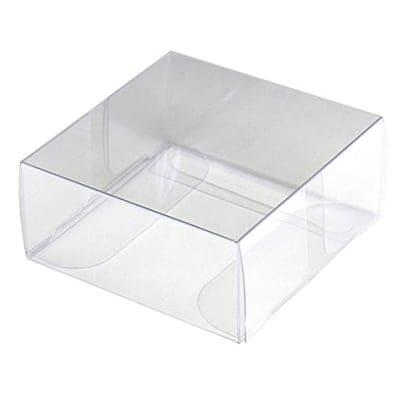 【単価66円】ディスプレイ用透明ボックス 55×55×25 50枚入