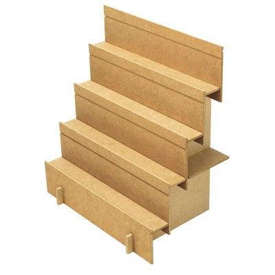 組立式木製飾り棚 2Way  (NO.44-5850)