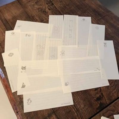 【※オプション】ロゴ・イラスト入れ《一筆箋&ポケット和箋&便箋オプション》(単品注文不可商品)