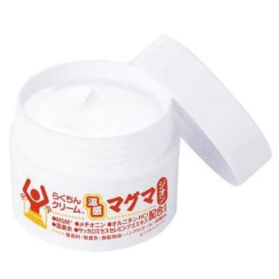 【通販】3個入り / らくちんクリーム 温感マグマ ジオン