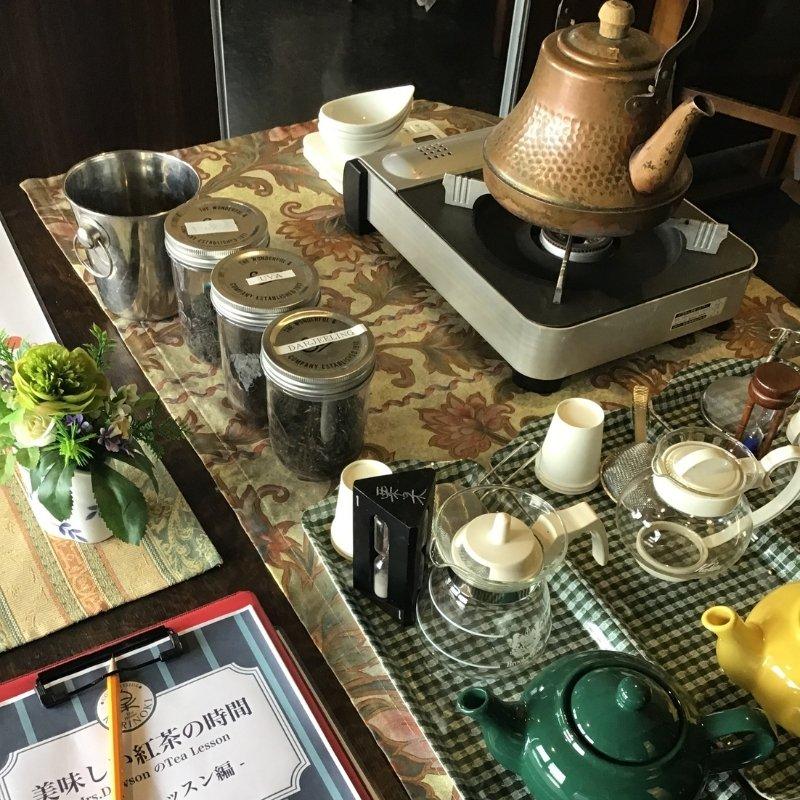 紅茶教室(会員様用)|紅茶の基礎が1日でわかるMrs.Dawsonのoneday tee lessonのイメージその3