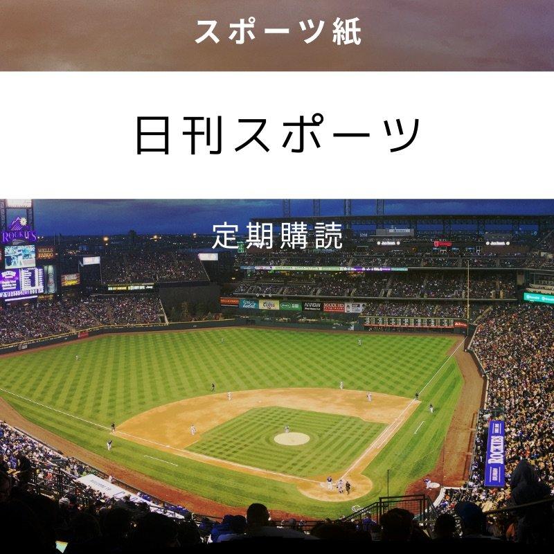 日刊スポーツ・クレジットカード決済専用のイメージその1
