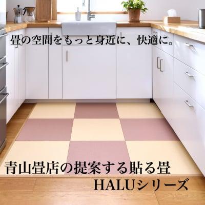 デザインシリーズ貼る畳/花たたみ/琉球畳風の縁なし畳/厚さ4ミリタイプ/450㎜×450㎜デザインカラー