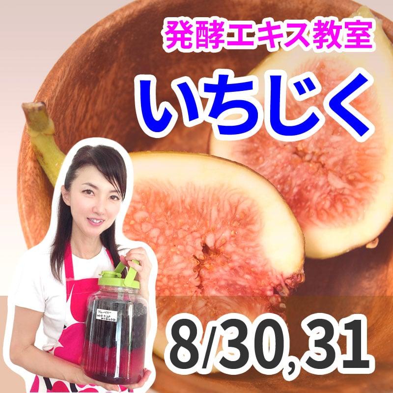 《8月30日、31日》発酵エキス教室「いちじく」無農薬【現地払い】のイメージその1