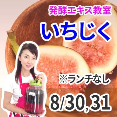 ランチなし《8月30日、31日》発酵エキス教室「いちじく」無農薬【現地払い】