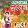 11月30日(土)発酵エキス教室ザクロ【現地払い】