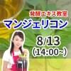 午後講座ランチなし《8月13日(木)》発酵エキス教室「命草 マンジェリコン」【現地払い】