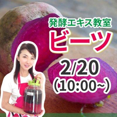 《2月20日(土)午前》発酵エキス教室「ビーツ」【現地払い】