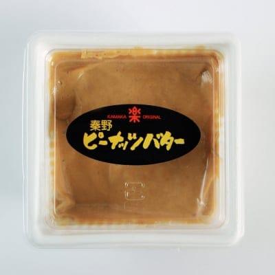 国内産落花生使用/程よい甘さとコクのピーナッツバター(加糖)90gパック入り