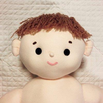 ベビーマッサージ用|赤ちゃん人形|【受注製作】