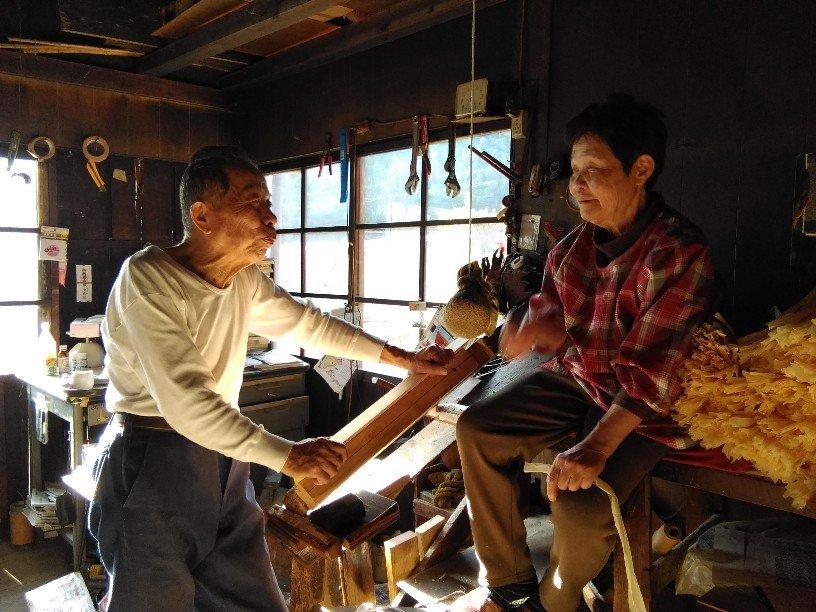 山村の過去と今とヒノキヒモ。最後の職人から学ぶツアー@和歌山県高野町のイメージその2