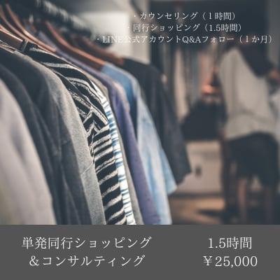 単発同行ショッピング&コンサルティング